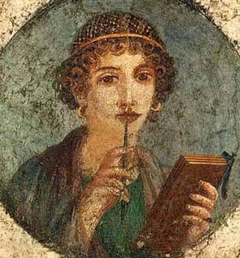 RomanWomenWriting